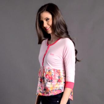 Bum Ladies Next Nature Blouse (Pink) Price Philippines