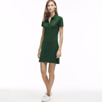 LACOSTE DRESS FOR WOMEN (MOSS GREEN) Price Philippines