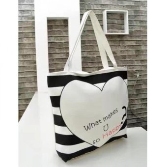 Harga Cai #01 Korean Tote Bag (White)