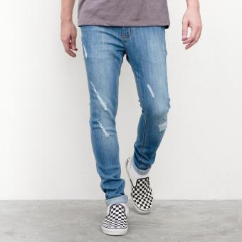 LOYAL Blue Ripped Jeans Price Philippines