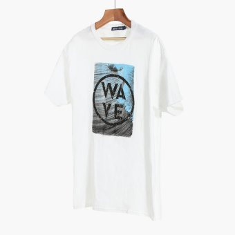 Harga Men's Club Mens Graphic Tee (White)