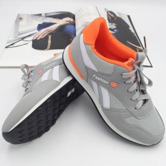 Harga Fantasy Ladies Fashion Sporty Lace Up Sneakers 1706 (grey)