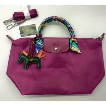 LC Long Le Pliage Champ Neo Medium Free Twilly & Charm Original (HYDRANGEA) Made in France SHORT HANDLE Price Philippines