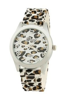 BlueLans Hot Sale Girl Leopard Silicone Quartz Wrist Watch Price Philippines