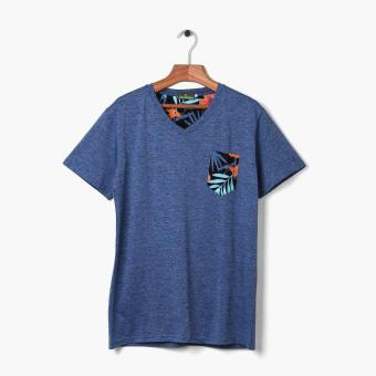 Coco Republic Mens Tropical Pocket Tee (Black) Price Philippines