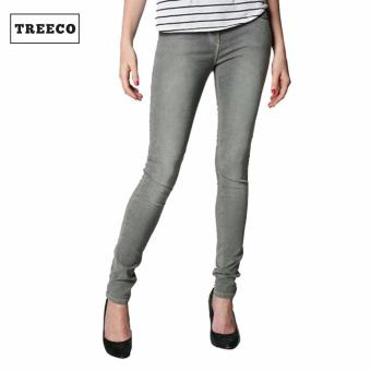 Treeco Fashion Women Skinny Gray Jeans Price Philippines