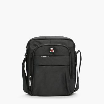 Harga Salvatore Mann Fan Sling Bag (Black)