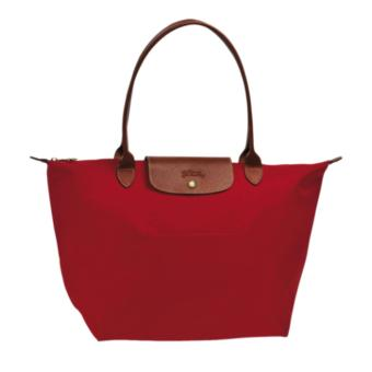 Longchamp Le Pliage Nylon Small Tote Long Handle Tote Bag, SLH Red Price Philippines