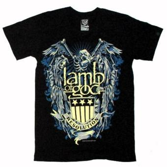 Harga Lamb of God Resolution T-shirt (nts)