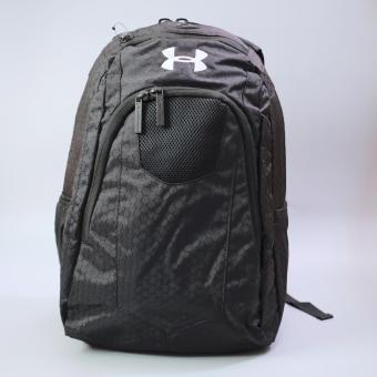 Harga Under Armour compact Backpack( black )