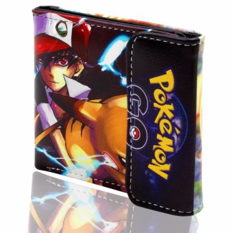 ANIME ZONE POKEMON Fierce Pokemon Go Pikachu Fan Art Colorful Trendy Printed Trainer Wallet Price Philippines