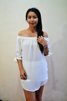 Harga Dion and Mary Lucy Chiffon (White)
