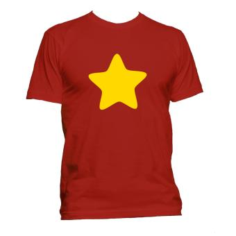 Harga Fan Arena Steven Universe Inspired Star T-shirt (Red)