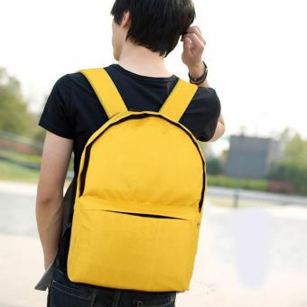 "Treeco Canvas Southern Wings Limited Collection 17"" Unisex Backpack (Yellow) Price Philippines"