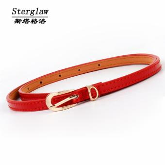 SeanSean Womens Fashion Rouge Red Belt Price Philippines