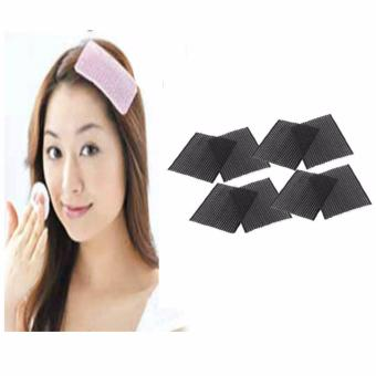 3 Pcs. Ornament Magic Tape Fringe Hair Bang Patch Stick Front Bangs Grip Holder 8 grams Price Philippines