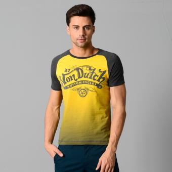 Harga Von Dutch S/S Raglan Top (Lemon Chrome)