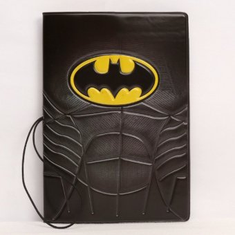 Harga Rorychen Man Wei Super Hero Batman Batman Multi-function Boarding Trip PVC Stereo Voltage Passport Protection - intl
