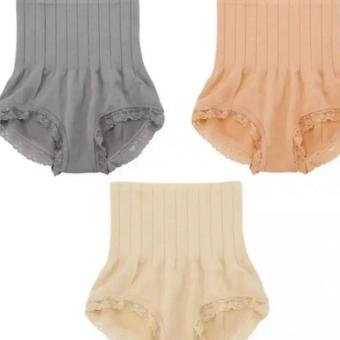 QF Munafie Slimming Panty Set of 3 (Beige, Nude, Gray) Price Philippines
