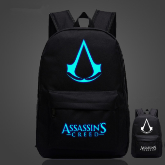 Assassin's Creed Noctilucent backpack schoolbag Price Philippines