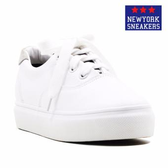 Harga New York Sneakers Astrid Low Cut Shoes(WHITE/BLACK)