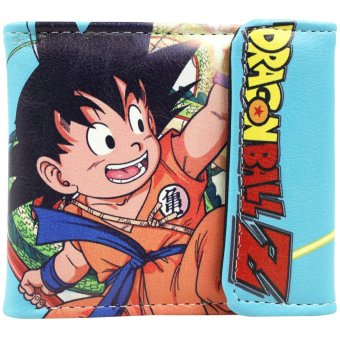 Anime Zone Dragon Ball Son Goku Trendy Printed Leather Wallet Price Philippines