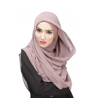 Women's Muslim Headband Head Cotton Silk Veil Hijab Scarf(Khaki) Price Philippines