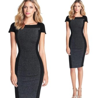 Gtop Career Apprarel for office ladies Summer Business Wear Women Work Wear Bodycon Pencil Office Dress Price Philippines