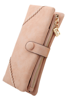 Harga Sanwood Bifold Button Clutch Pink