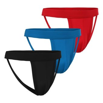 Cyber Avidlove Men's Hollow Out Strap Thongs 3-Pack Briefs Price Philippines