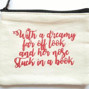 Harga Beauty and the Beast Dreamy Quote Coin Purse