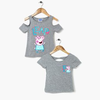 Harga Peppa Pig Girls Leap 2-piece Blouse Set (Large)