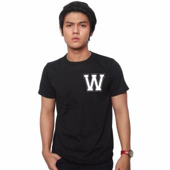 T-shirt ni Juan Pocket Letter W Black (White) Price Philippines