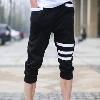 Harga Seven men sport leisure fitness running pants harlan bound feet
