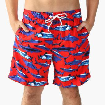 Coco Republic Teens Board Shorts (Red) Price Philippines