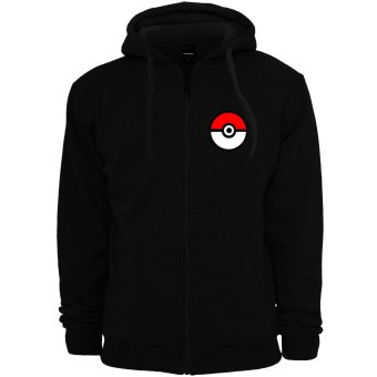 POKEMON GO Anime Pokemon Trainer Unisex Zip-Up Outdoor Hoodie Jacket (Black) Price Philippines