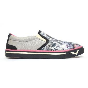 Harga PONY WOMEN'S CANVAS - NEW SCHOOL (WHITE TIGER/SILVER)