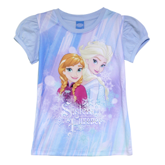 Frozen Anna and Elsa Blouse (Blue) Price Philippines