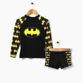 Harga Batman Boys Rashguard and Trunks Set (Large)