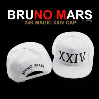 Harga Bruno Mars 24k Magic XXIV Cap (White)