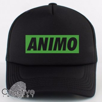 CRTVE Animo Boxed DLSU La Salle Trucker Cap (Black) Price Philippines
