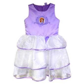 Disney Sofia The First: Cup Of Tea Sleeveless Dress Lavender Price Philippines