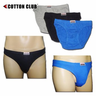 Harga Cotton Club Undergarments Men's Brief (CC-211C)