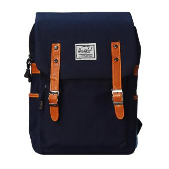 Harga MMC Student BackPack (Navy Blue)