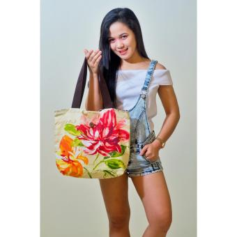 Floral Artweark Tote Bag Price Philippines