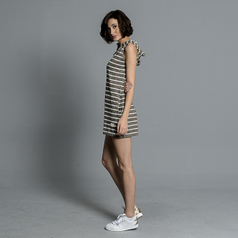Skechers Ladies Madie Stripes Dress (Moss) Price Philippines