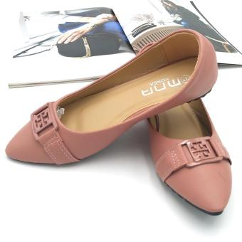 Harga Fantasy Mna Ladies Pointed Doll Shoes 218-21 (Pink)