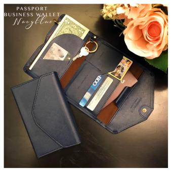 Passport Business Wallet (Navyblue) Price Philippines