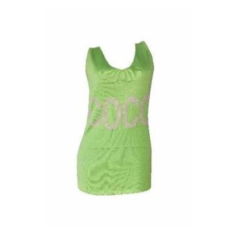Coco knitted dress sleeveless women light green Price Philippines