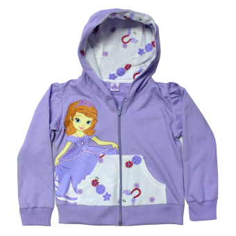 Disney Sofia The First Hoodie Jacket (Lavender) Price Philippines